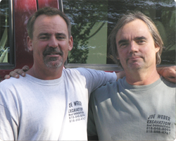 image of brothers Joe and Leo Weber